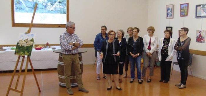 peintres expo sept 2015 bouilhonnac