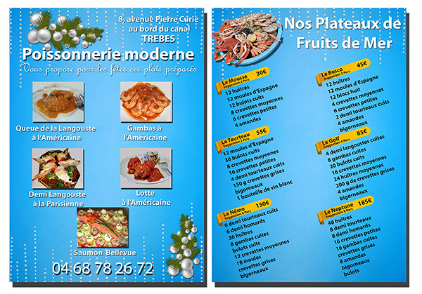 poissonnerie flyer noel 2015  x2 pt