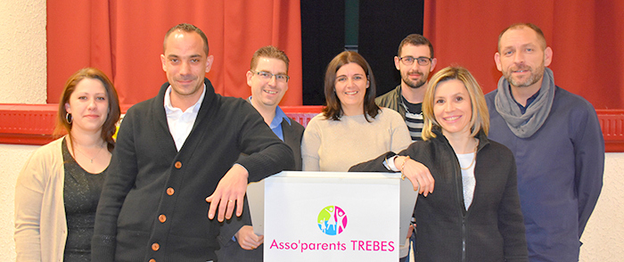asso parents Trèbes bureau