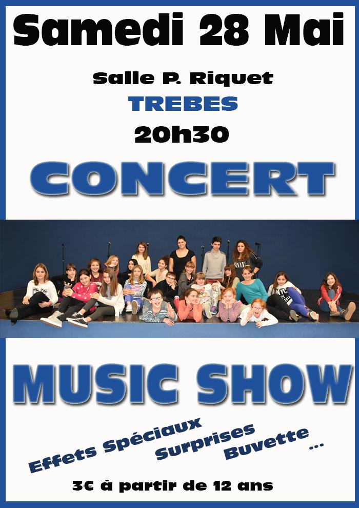 Music Show Concert mai2016