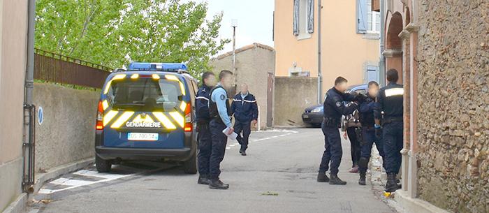 gendarmerie opération vieux village3