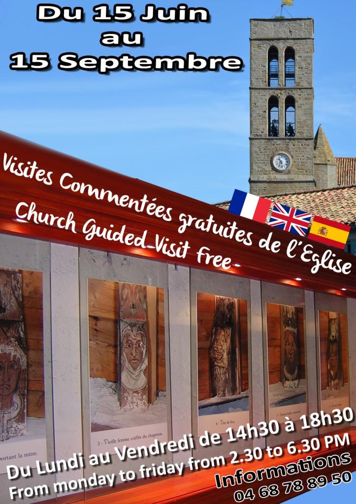 église Trèbes Visites 2016