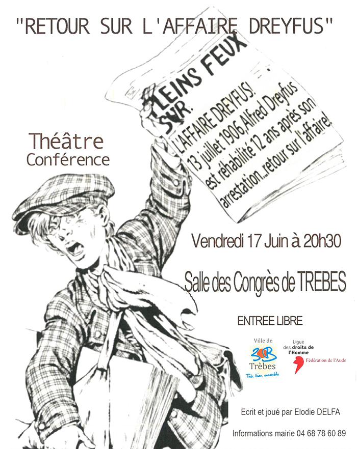 RETOUR SUR L'AFFAIRE DREYFUS 17 06 16