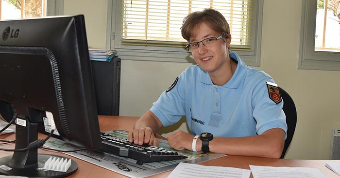 Gendarmerie Nouvelle recrue