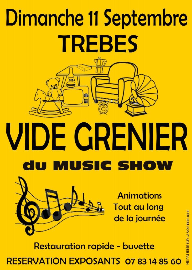 music show vide grenier septembre 2016