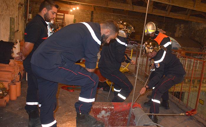 pompiers manoeuvre fonties