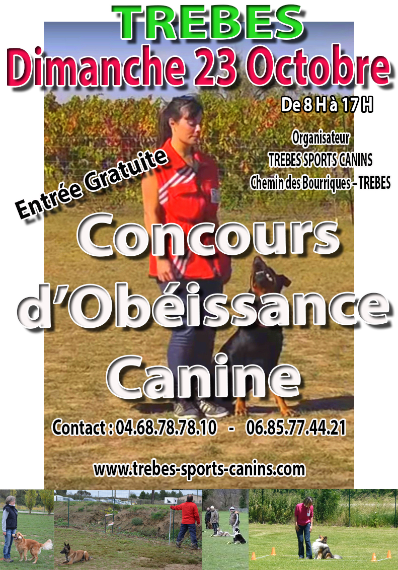 canin affiche obeissance oct2016
