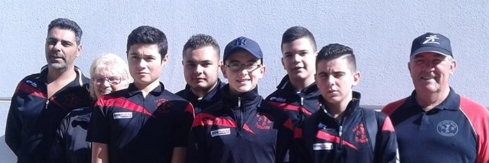 pétanque jeunes champions de ligue