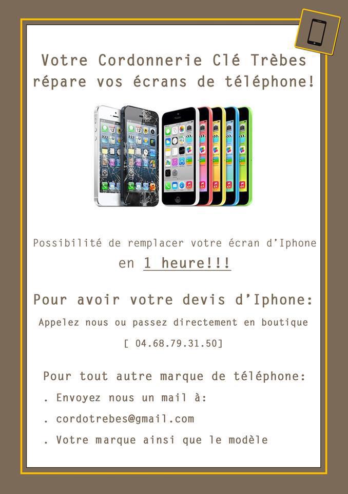 cordonnerie telephones