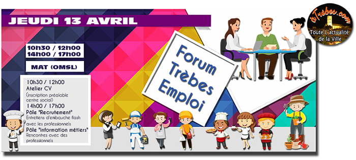 forum emploi avril 2017 site