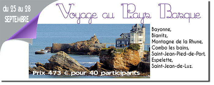 aines voyage