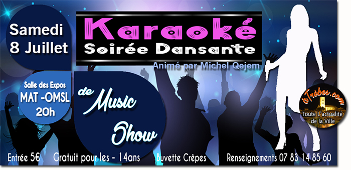 music show karaoké juillet2017 Trèbes