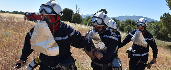 pompiers manoeuvre trèbes 2