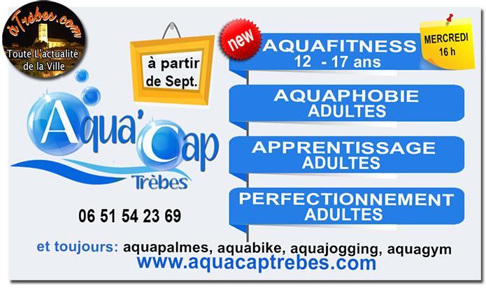 aqua cap affiche 2017-2018 Trèbes2