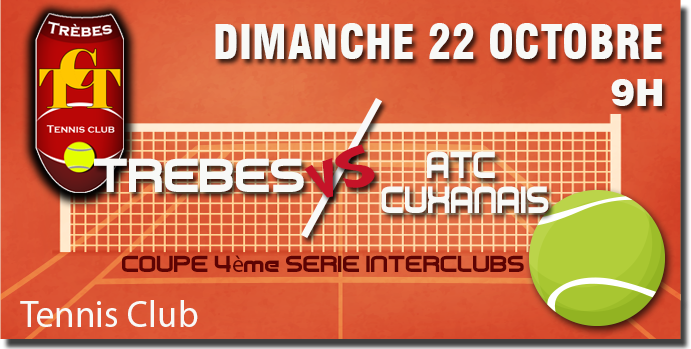 Tennis annonce 22oct