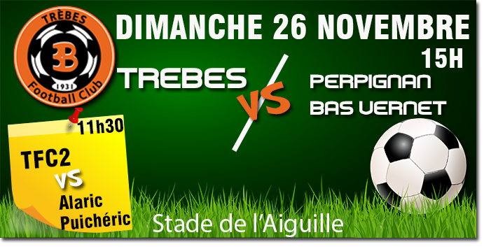 Foot TFC annonce 26nov