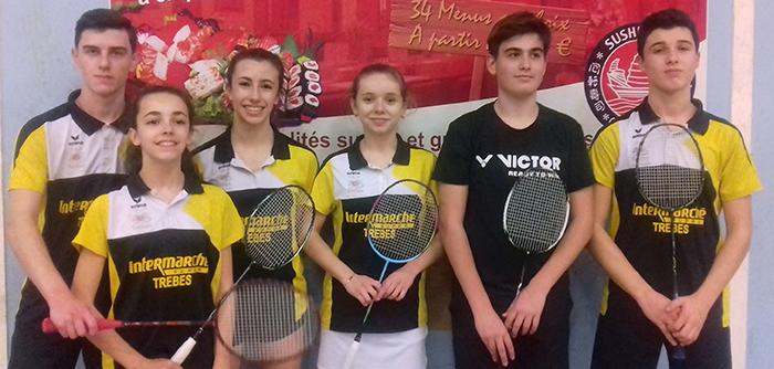 badminton Trèbes