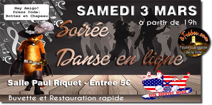 soirée danse en ligne mars2018 Trèbes 2