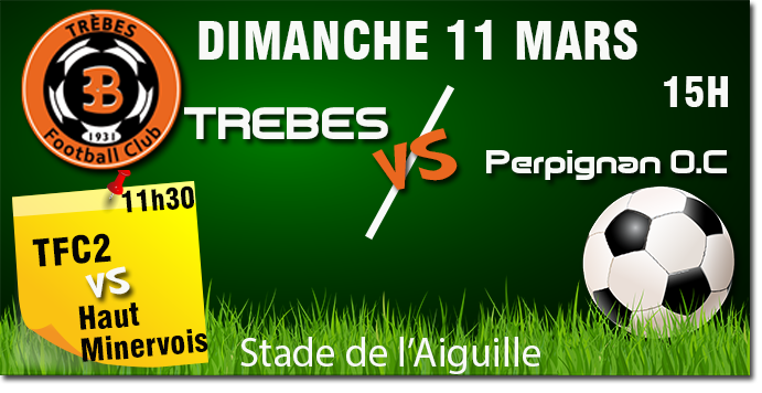 Foot TFC annonce11 mars