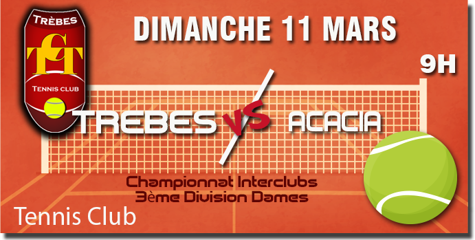 Tennis annonce 11mars
