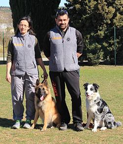 canin Chiens visiteurs Trèbes mars 2018