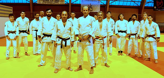 judo ceintures noires trèbes