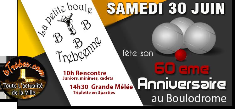 Pétanque  60e anniversaire 2018