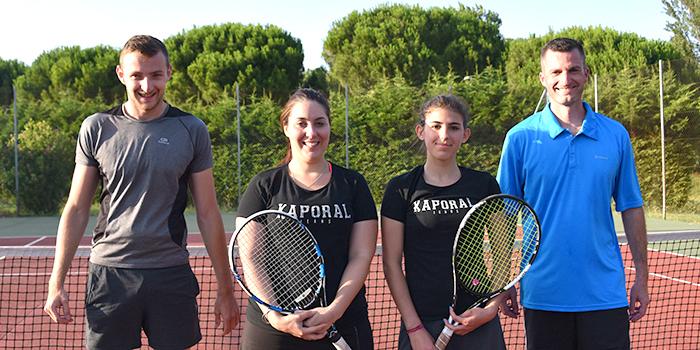 tennis tournoi juin 2018 Trèbes