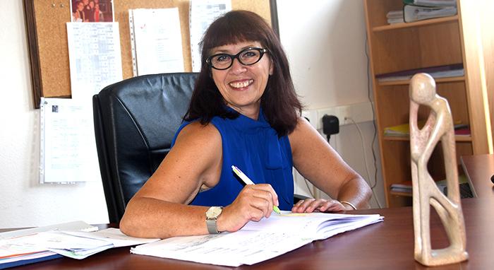 Corina Santomaggio collège  Gaston Bonheur Trèbes
