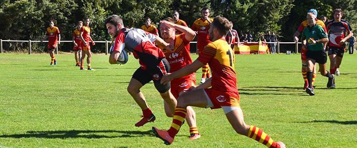 rugby Trèbes  ust - foix sept2018