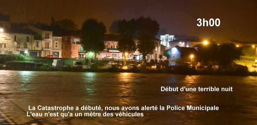 la terrible nuit 15 oct 2018 inondation