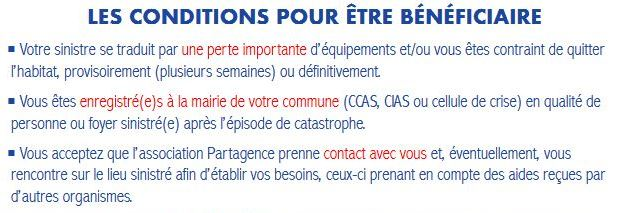 partagence conditions