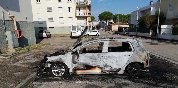 incendie véhicule Trèbes aout2019