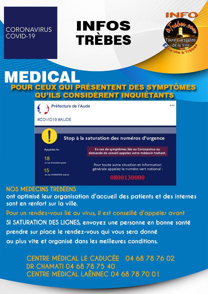 Infos médecins